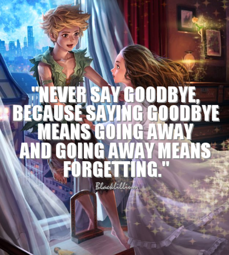 Quotes Wallpaper Entitled Never Say Goodbye