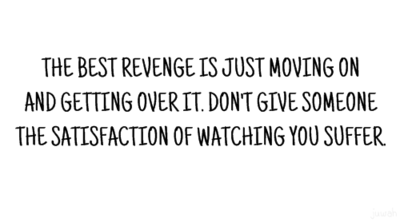 Quotes wallpaper called The best revenge
