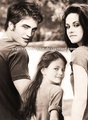 renesmee with her parents - renesmee-carlie-cullen photo