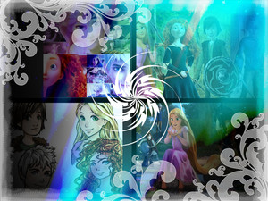 Rise of the Rebelle Raiponce dragons