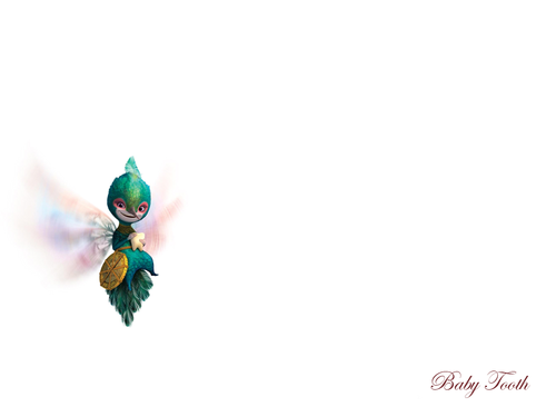Rise of the Guardians Hintergrund entitled Baby Tooth