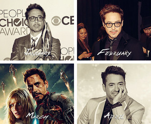 Robert Downey Jr. - A año in review (2013)