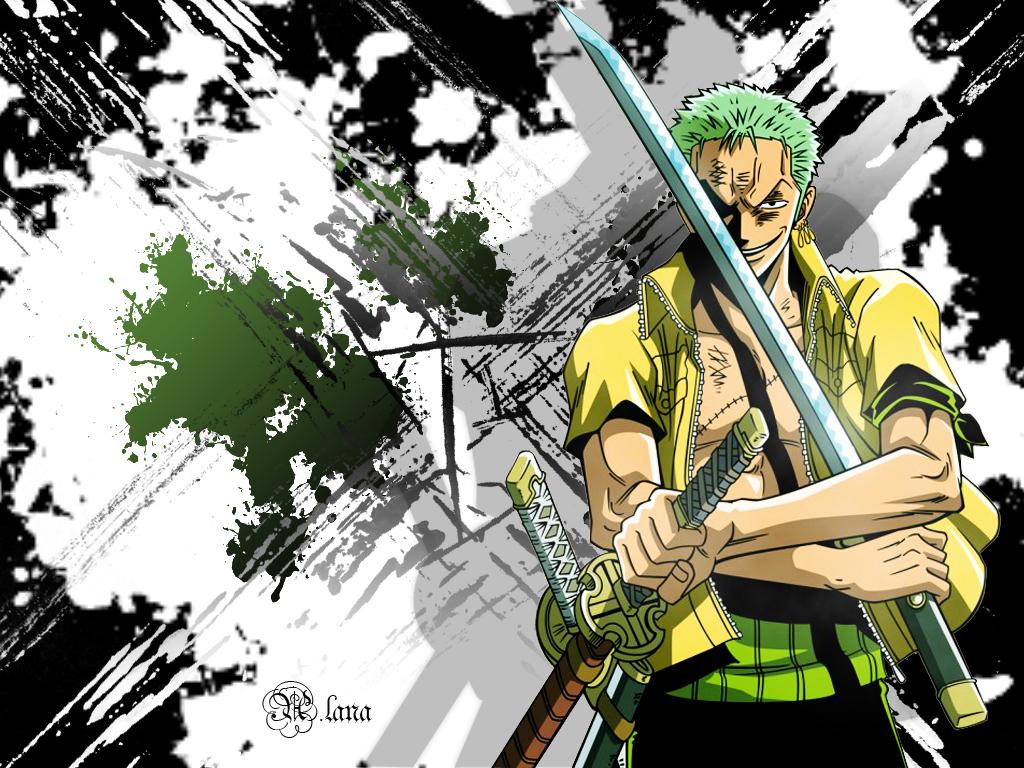 Roronoa Zoro hình nền titled ˚Zoro☠(Swordsman)˚