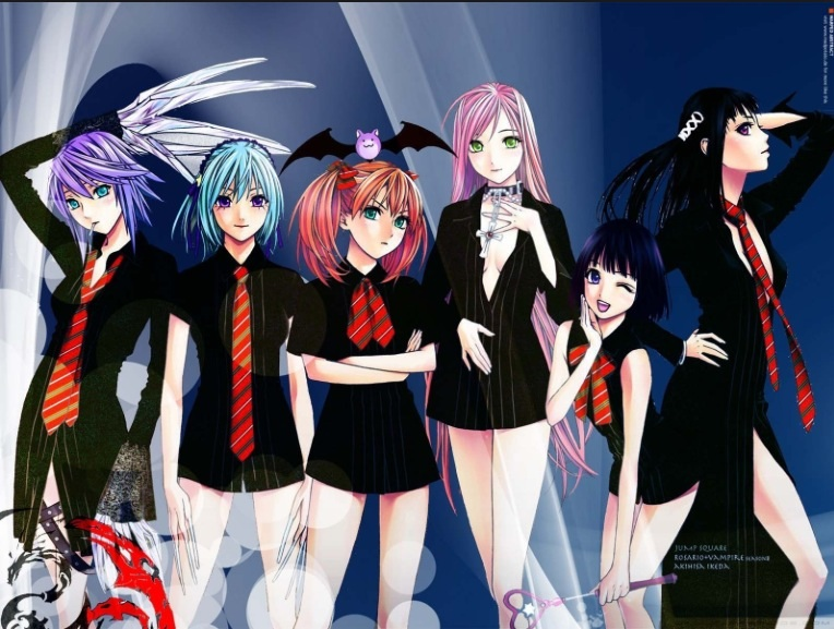 Moka and the others school style
