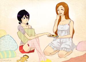 *Rukia/Orihime*