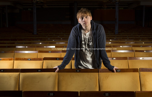 Rupert Grint wallpaper titled  THE GUARDIAN PHOTOSHOOT BY RICHARD SAKER