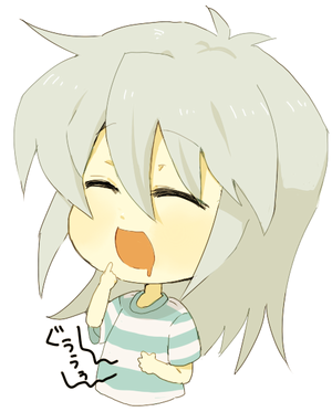 chibi bakura >w<