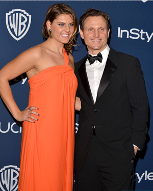 Golden Globes 2014: Jane Musky and Tony Goldwyn