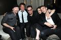 Sean with U2 and Winona Ryder and Chris Hemsworth