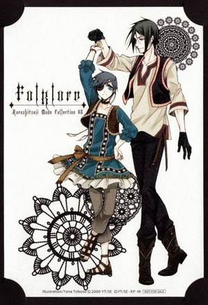 Sebastian and Ciel