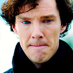 Sherlock's blue eyes *-*