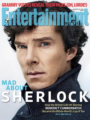 EW Magazine Cover - Sherlock