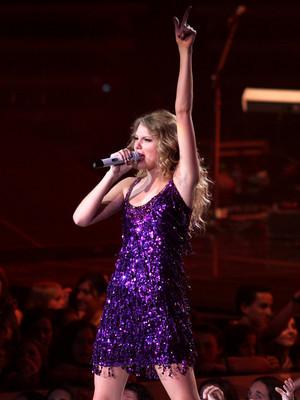 Taylor In Sparkling Dress