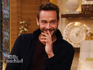 Tom Mison on Live with Kelly and Michael NYC 1-13-14