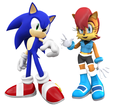 Sonic And Sally In The Videogames - sonic-sally%3D-3 fan art