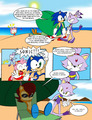 Sonic Beach - sonic-the-hedgehog fan art