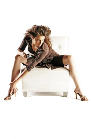 Stana Katic fond d'écran containing bare legs, a hip boot, and tights titled Stana Katic
