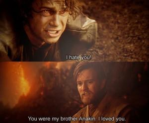 Anakin & Obi-Wan on Mustafar