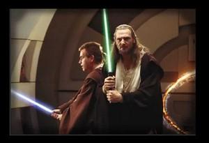 Master Qui-Gon Jinn & Padawan Obi-Wan Kenobi