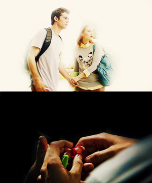 Stiles and Lydia<3