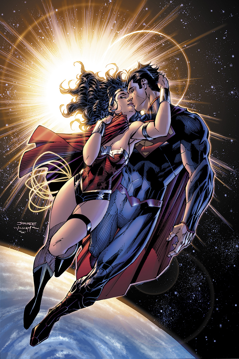 superman and wonder woman pictures