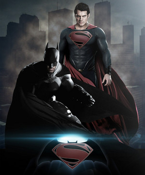 batman vs super-homem Fan-made Poster