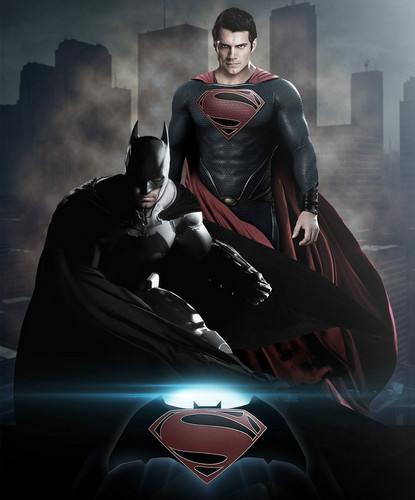 Superman kertas dinding entitled Batman vs Superman Fan-made Poster