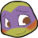 blushing Donnie - teenage-mutant-ninja-turtles icon