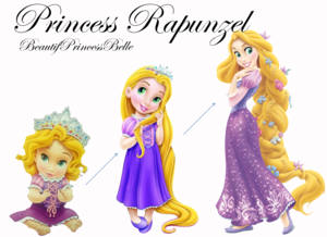 How Rapunzel Grow A Princess