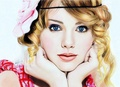 Taylor Swift Beautiful Fan Art - taylor-swift fan art