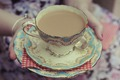 Tea makes everything better:)