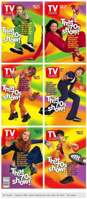 tv guide covers - 2001