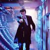The Eleventh Doctor photo probably containing a business suit, a concert, and a street entitled > eleven <