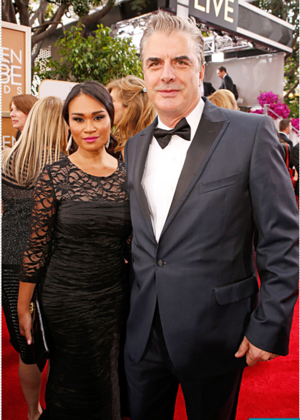 Golden Globes 2014: Cute Couples Alert! Tara Wilson and Chris Noth