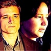 Peeta Mellark and Katniss Everdeen