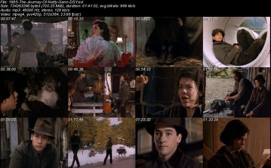 The Journey Of Natty Gann Film Collage The Journey Of