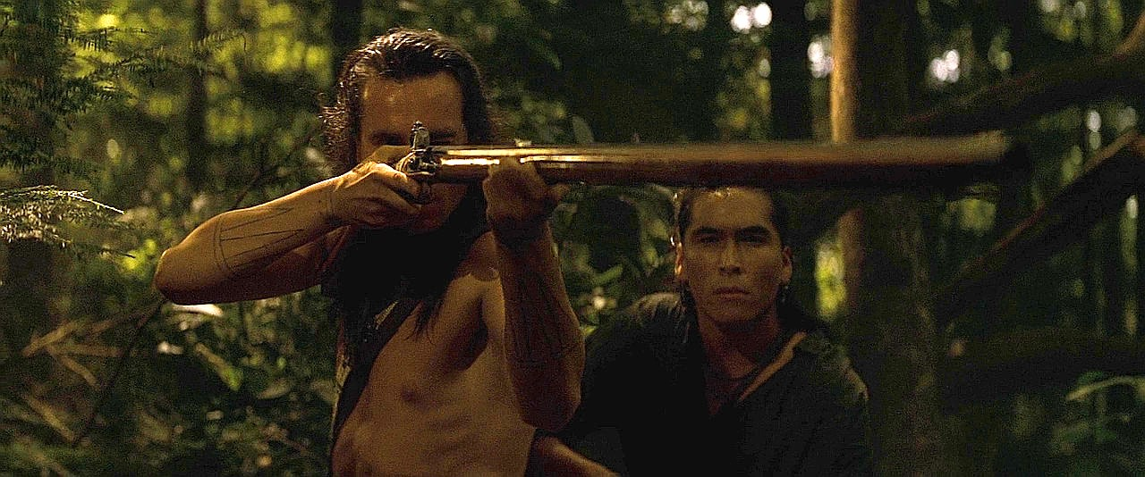 Hawkeye and Uncas
