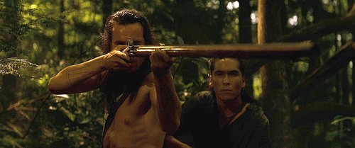 The Last of the Mohicans wallpaper entitled Hawkeye and Uncas