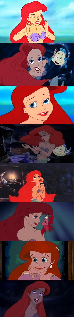 Ariel face