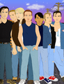 The Outsiders Gang - the-outsiders fan art