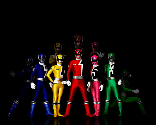 The Power Rangers wallpaper entitled Power Rangers SPD