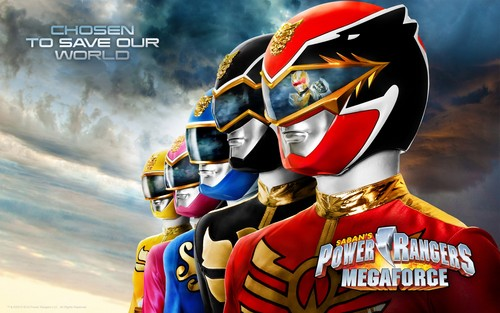 The Power Rangers wallpaper entitled Power Rangers Megaforce