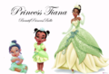 tiana grow a princess