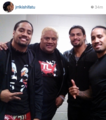Roman Reigns,The Usos,Rikishi