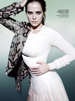Zoey Deutch in Instyle Magazine February 2014