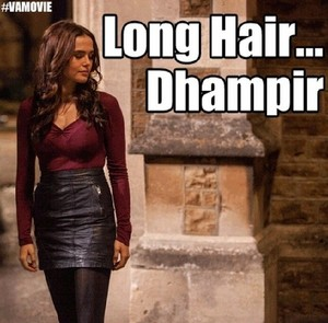 Long hair... dhampir