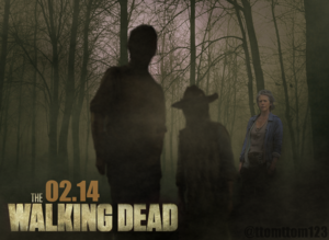 The Walking Dead FEBRUARY 2014 Poster (Carol)