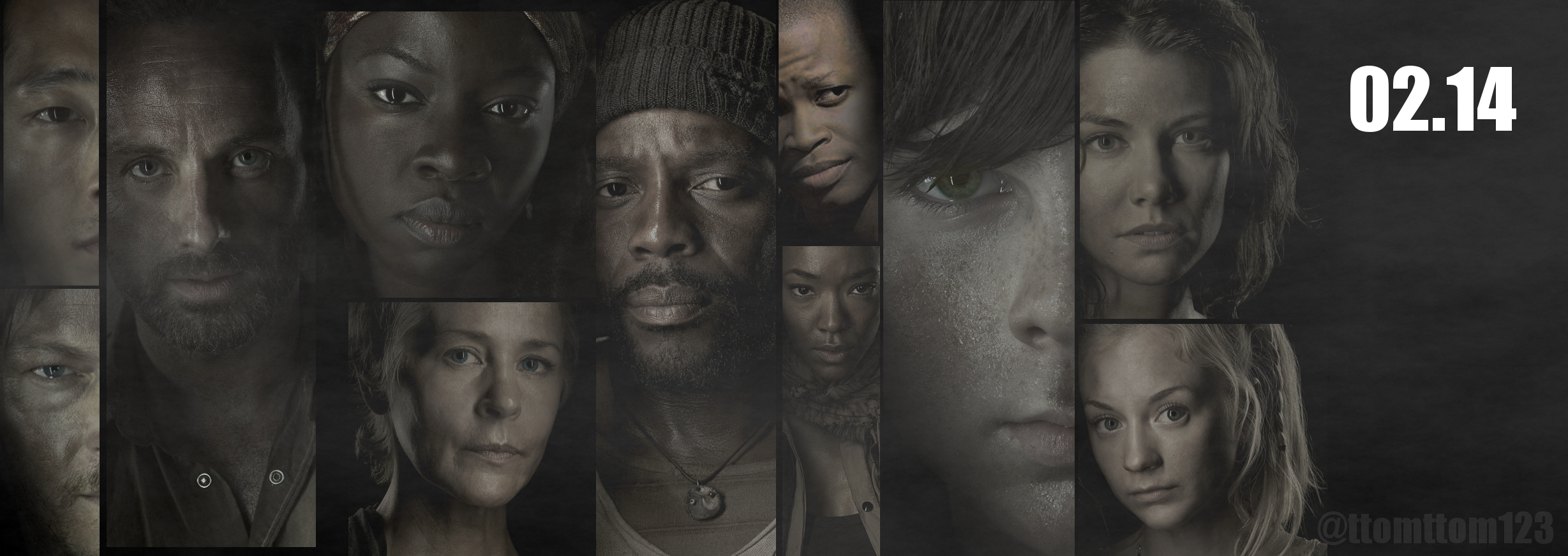 THE WALKING DEAD - FEB 2014 - PROMO POSTER