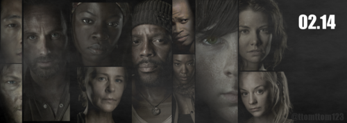 THE WALKING DEAD - FEB 2014 - PROMO POSTER - the-walking-dead Photo