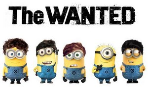 Minion versions of The Wanted